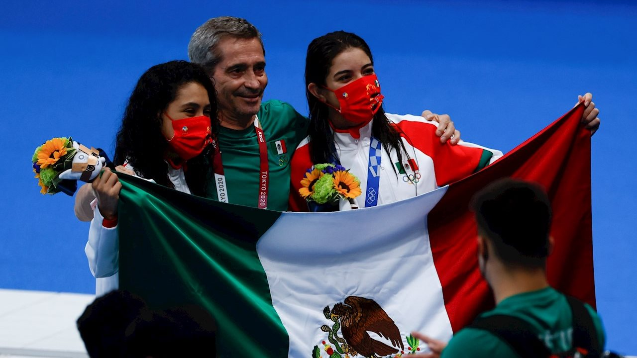 AMLO felicita a medallistas mexicanos en Tokio 2020