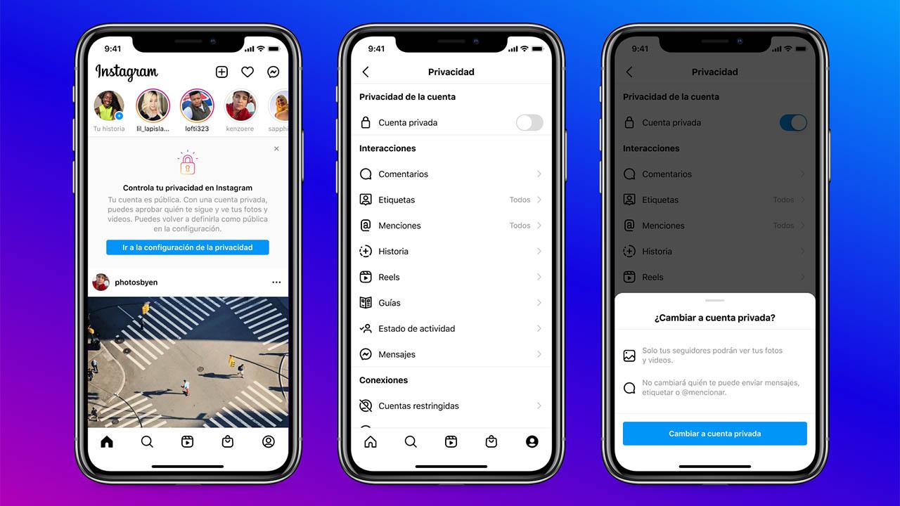 Facebook e Instagram buscan proteger a los jóvenes con nuevas medidas de seguridad
