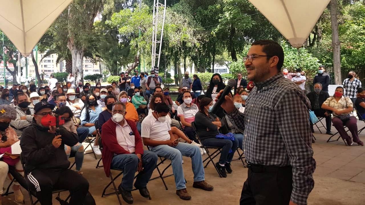 Martí Batres: operación cicatriz de Morena con la CDMX