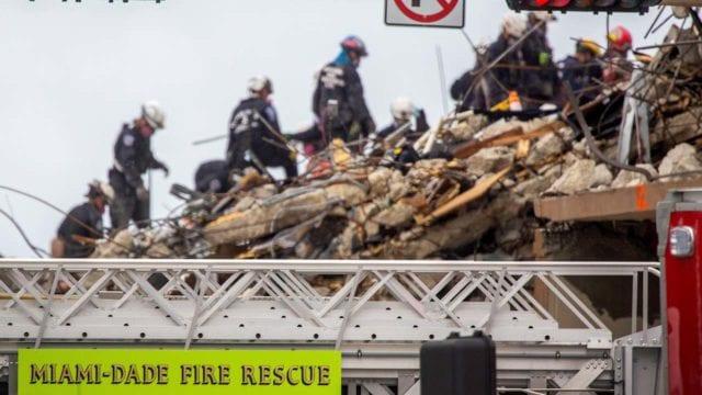 Aumenta a 20 cifra de muertos por colapso de edificio en Florida