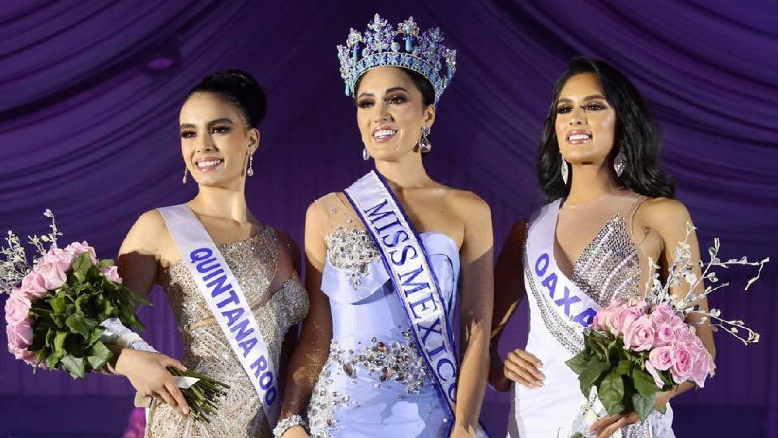 Miss México 2021 eligió a su reina con la mitad de concursantes con Covid-19