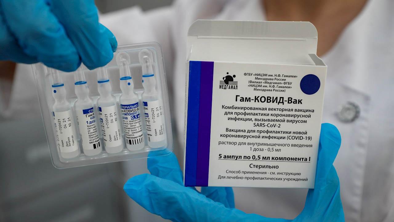 Vacuna Sputnik V es eficaz contra todas variantes, incluso la Delta: Rusia