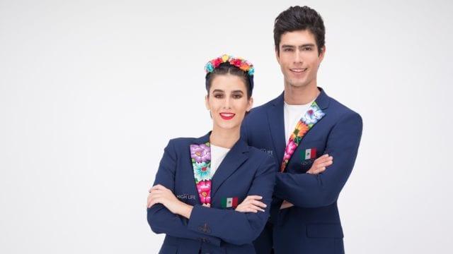 Tokio 2021 trajes olímpicos mexicanos