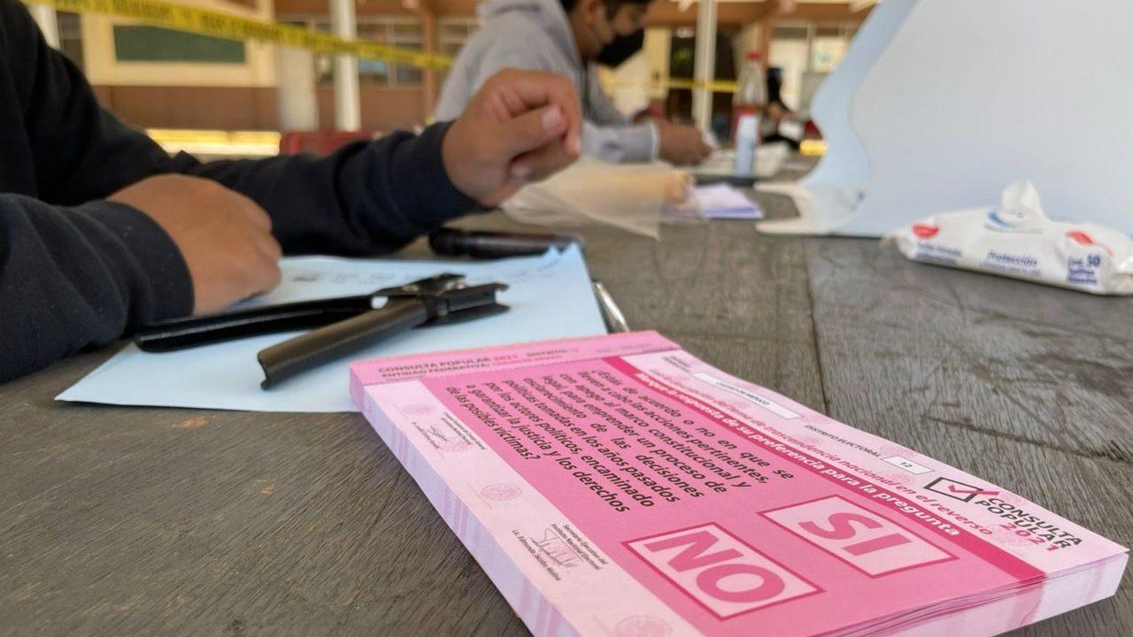 INE detecta 476 irregularidades en la consulta popular