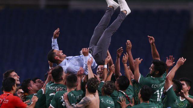 México se impuso 3-1 a su homólogo de Japón. Foto: Reuters