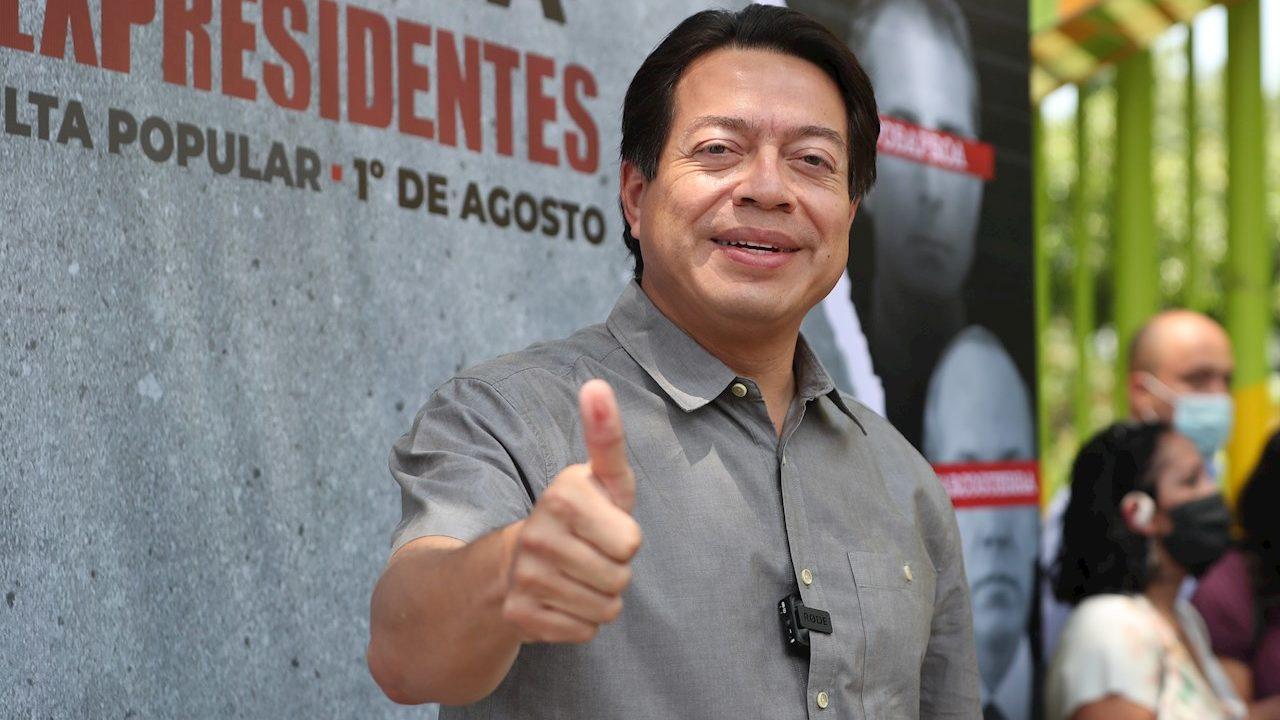 Un 90% de mexicanos que votaron piden juicio a políticos: Delgado