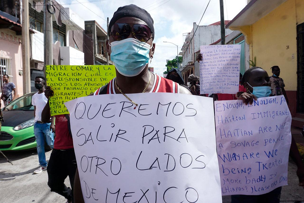 ONU exige a México respetar los derechos humanos de los migrantes
