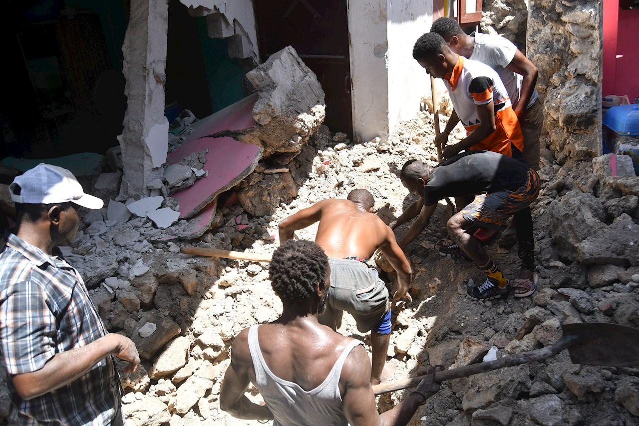 Terremoto en Haití: aumenta a 724 el número de muertos