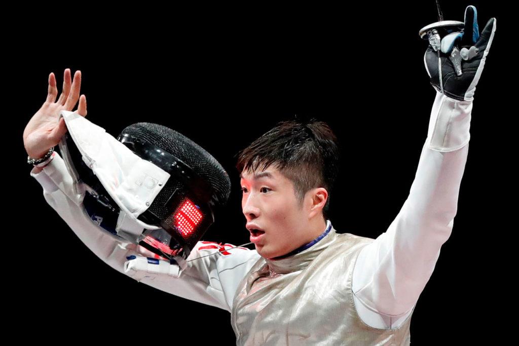 Cheung Ka Long Hong kong Olympic Games 2020 Fencing