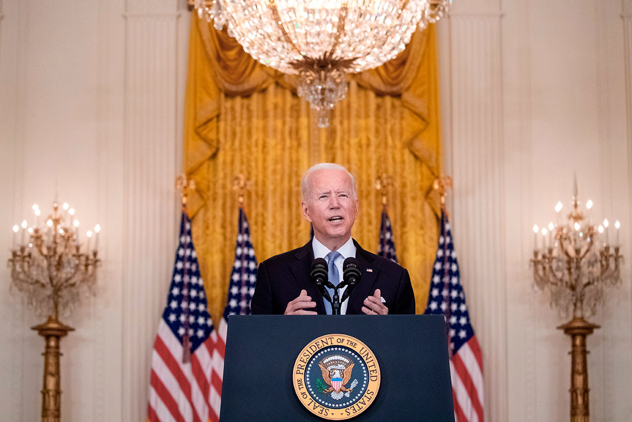 Casa Blanca defiende decisión de Biden sobre retiro de Afganistán