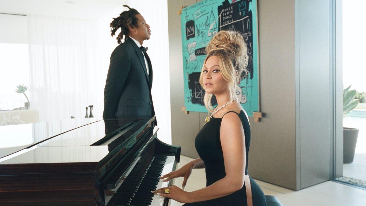 Beyoncé y JAY-Z protagonizan una intensa historia de amor con Tiffany