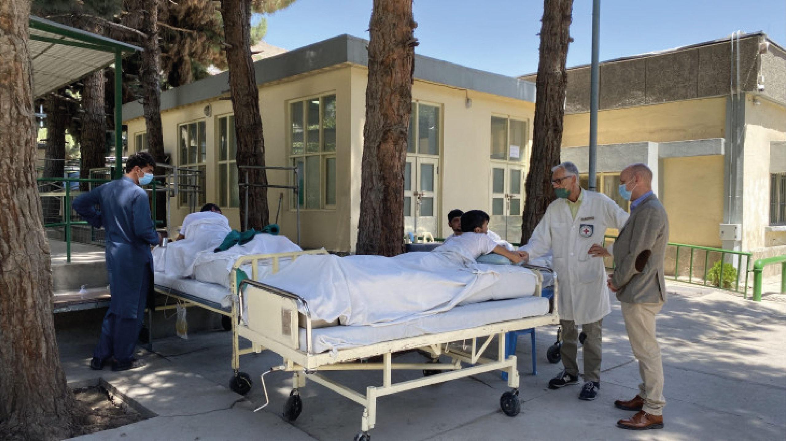 La Cruz Roja mantendrá su labor humanitaria en Afganistán