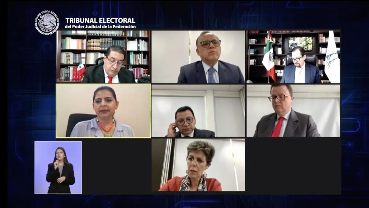 Truenan magistrados del TEPJF; acusa Vargas golpe de estado