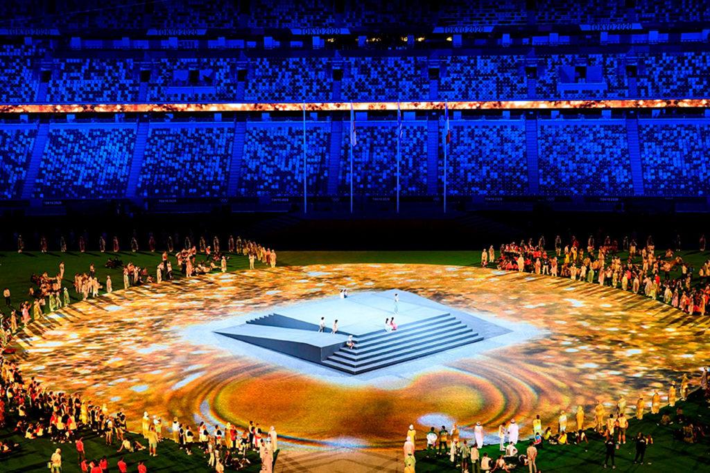 Clausura juegos olimpicos Tokio2