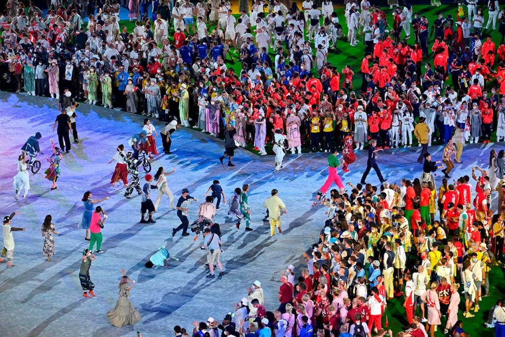 Clausura juegos olimpicos Tokio4