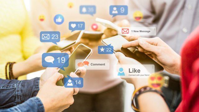 redes sociales, digital