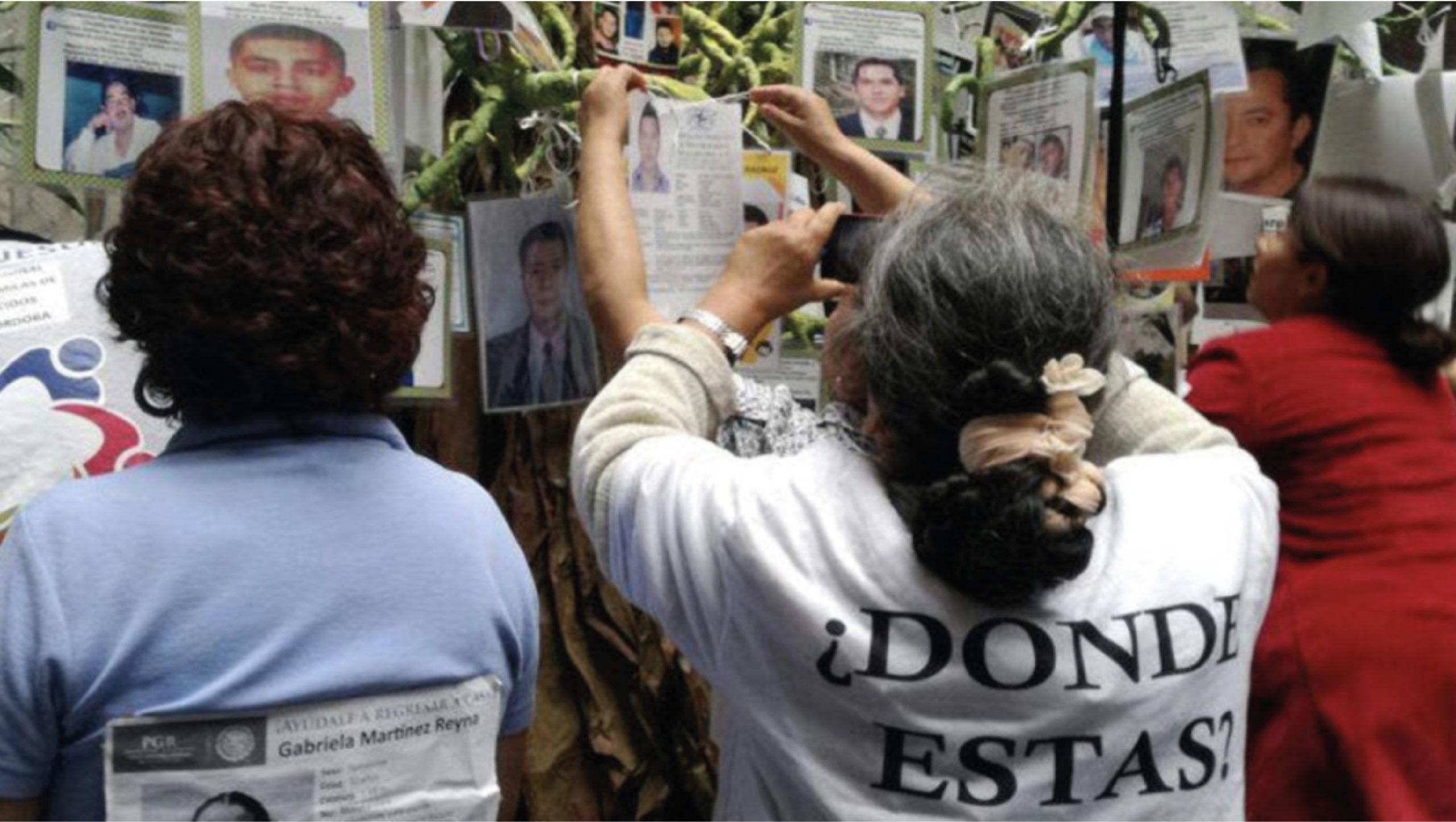 ONU-DH pide a México garantizar la búsqueda 'efectiva' de desaparecidos