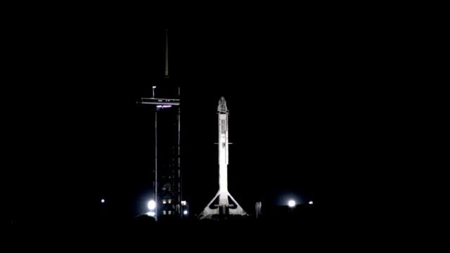El SpaceX en Florida. Foto: Nasa