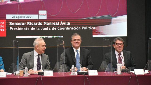 Plenaria de Morena. Foto: Ricardo Monreal