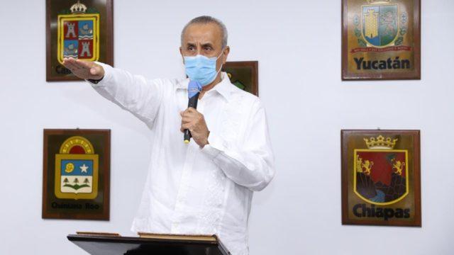 Carlos Merino Campos, gobernador provisional de Tabasco. Foto: Congreso de Tabasco