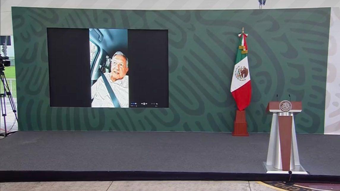 No seré rehén de la CNTE, dice AMLO tras fallida conferencia