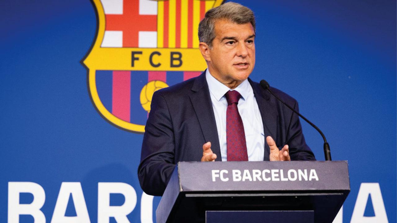 La  situación económica del FC Barcelona es dramática: Laporta