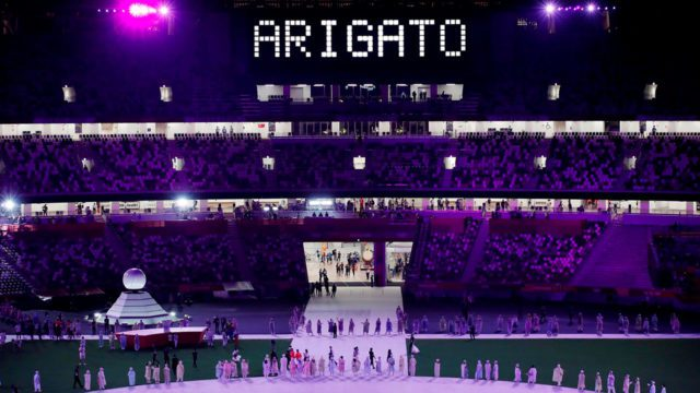 Clausura Juegos Olímpicos Tokio 2020 4