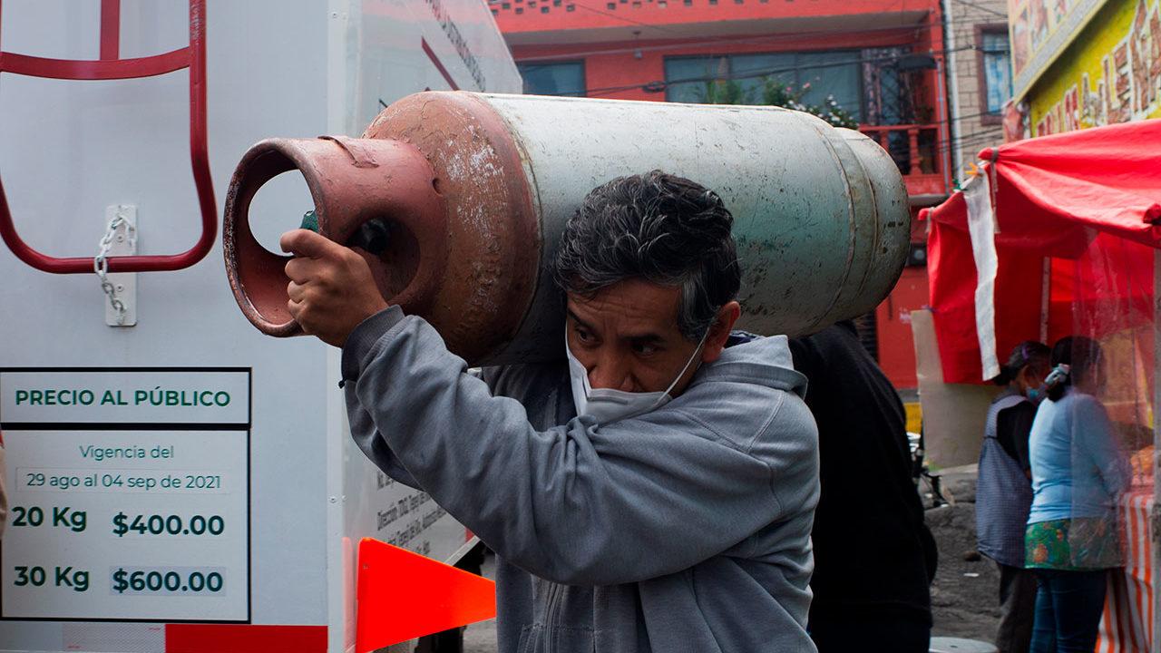 Repartidores de gas LP se van a paro otra vez; protestarán en la Sener