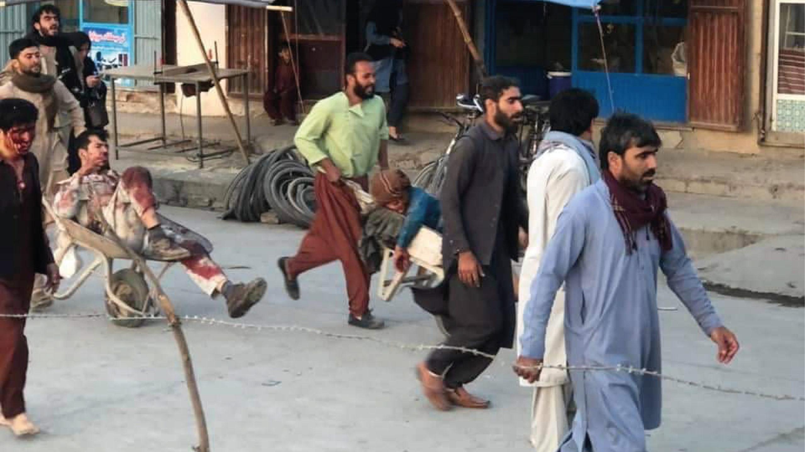 Más de una decena de muertos y 60 heridos en atentado de Kabul