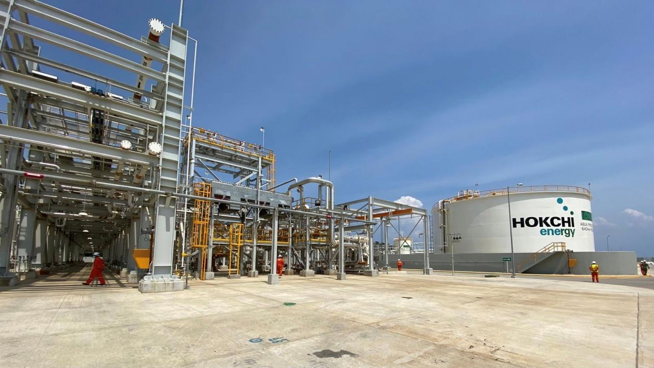 Hokchi Energy estrena Planta de Procesamiento de Hidrocarburos en Tabasco