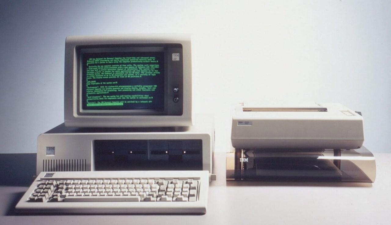 Cumple 40 años la primera computadora personal creada por IBM