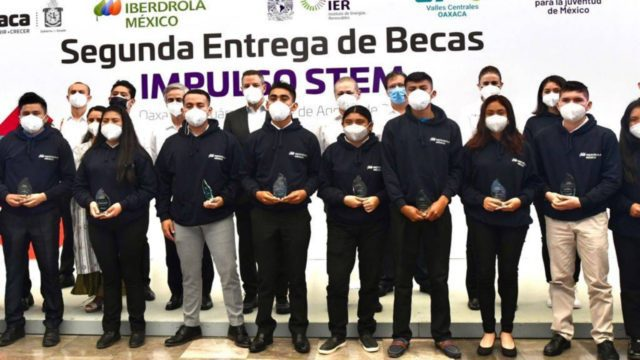 Iberdrola becas Oaxaca