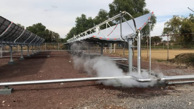 proyecto vapor solar