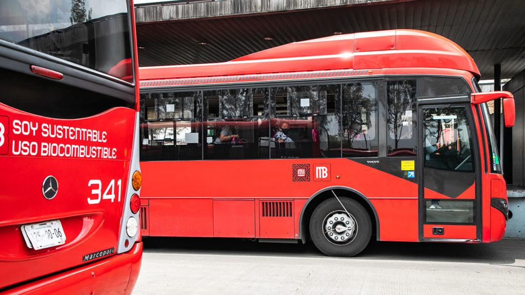Metrobus uso de biocombustible 2