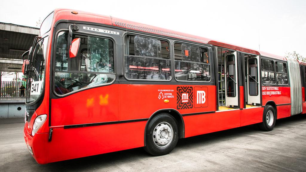 Metrobus uso de biocombustible 3