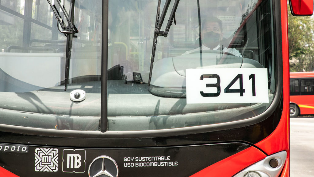 Metrobus uso de biocombustible 4