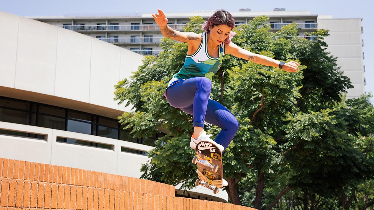 Así la magia creativa de los uniformes de skateboarding que brillaron en Tokio