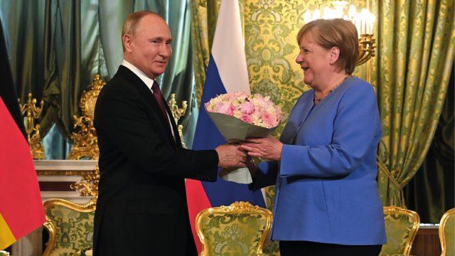 Merkel Rusia