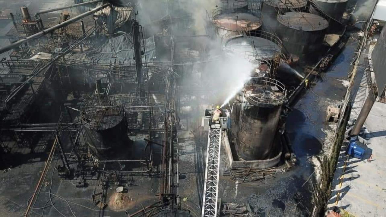 Explosión en planta de Protexa deja un saldo de dos muertos, están en proceso de identificación