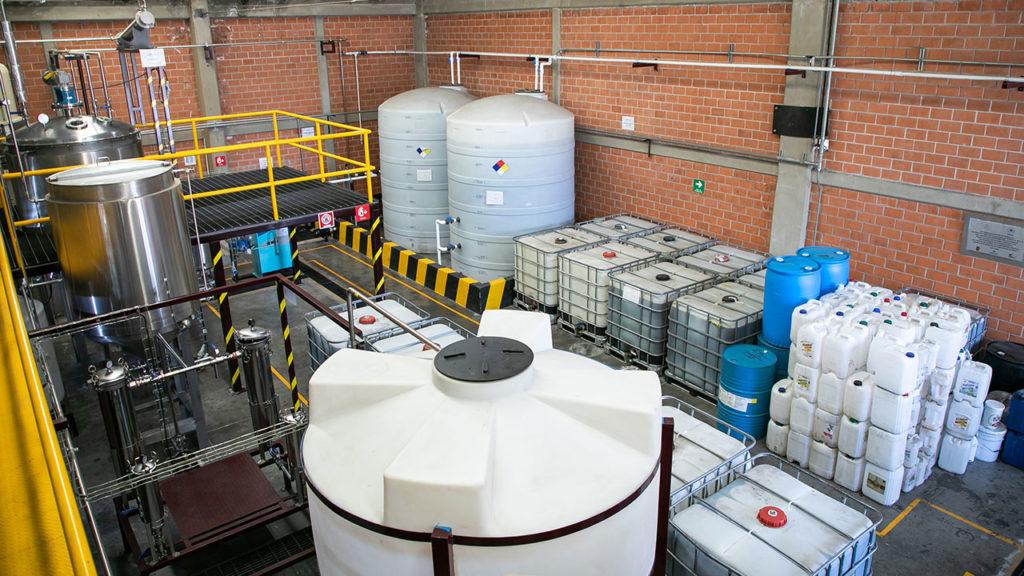 Planta de biocombustible Central de Abasto 3