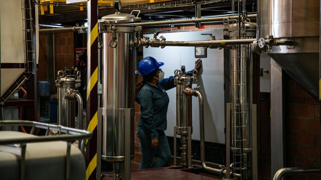 Planta de biocombustible Central de Abasto 5
