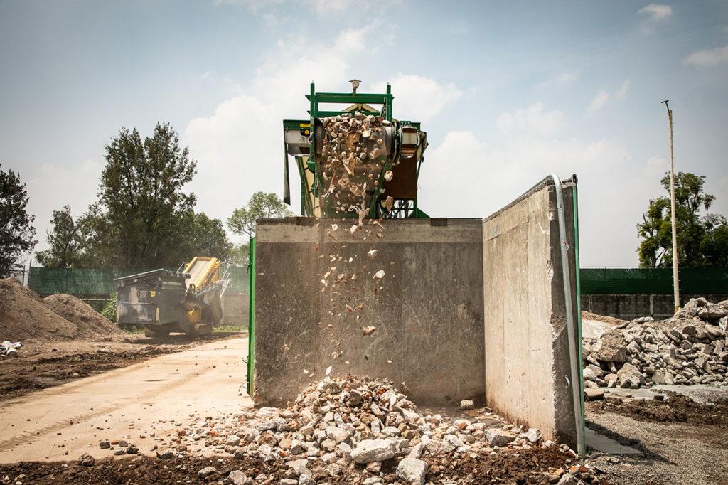 Planta de reciclaje de cascajo 2