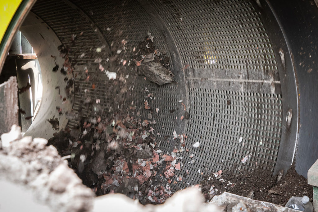 Planta de reciclaje de cascajo 4