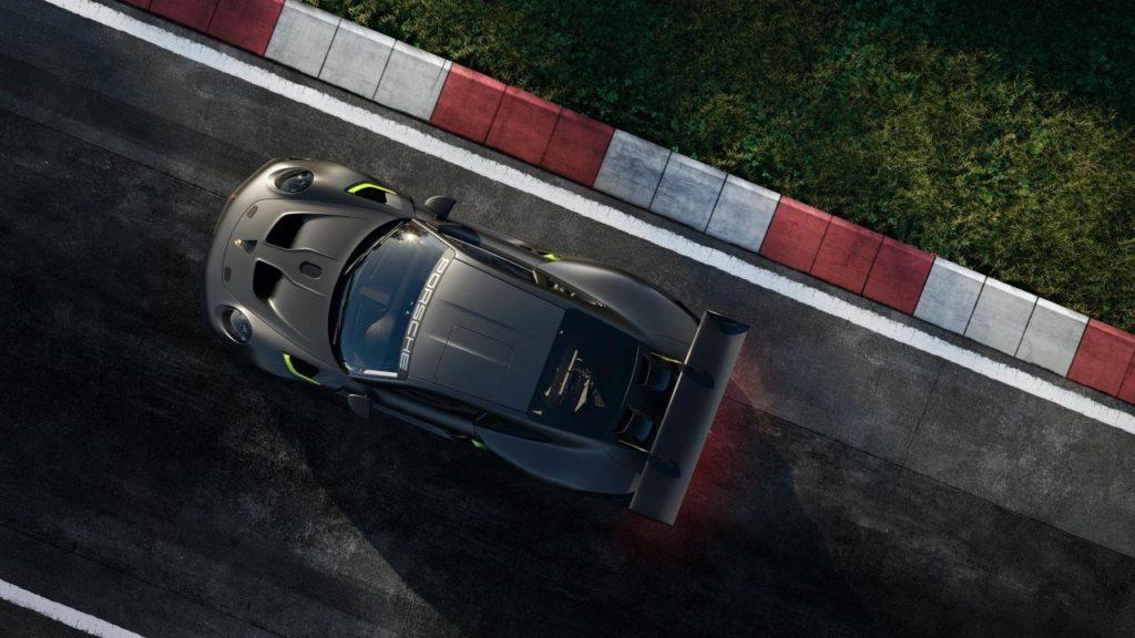 Porsche auto de carreras