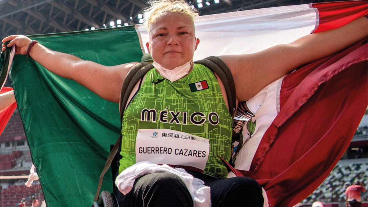 Rosa Guerrero logra el bronce para México en los Juegos Paralímpicos