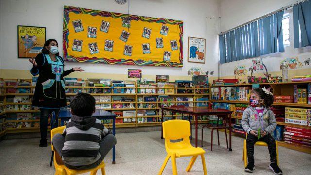 Regreso a clases presenciales jardin de niños 3