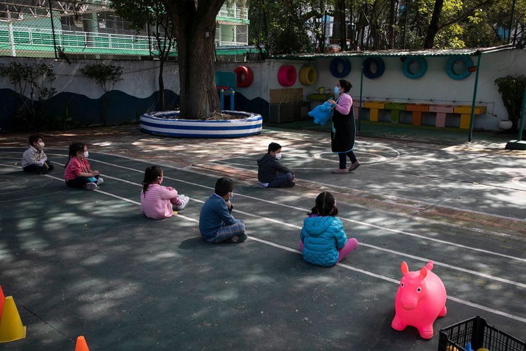 Regreso a clases presenciales jardin de niños