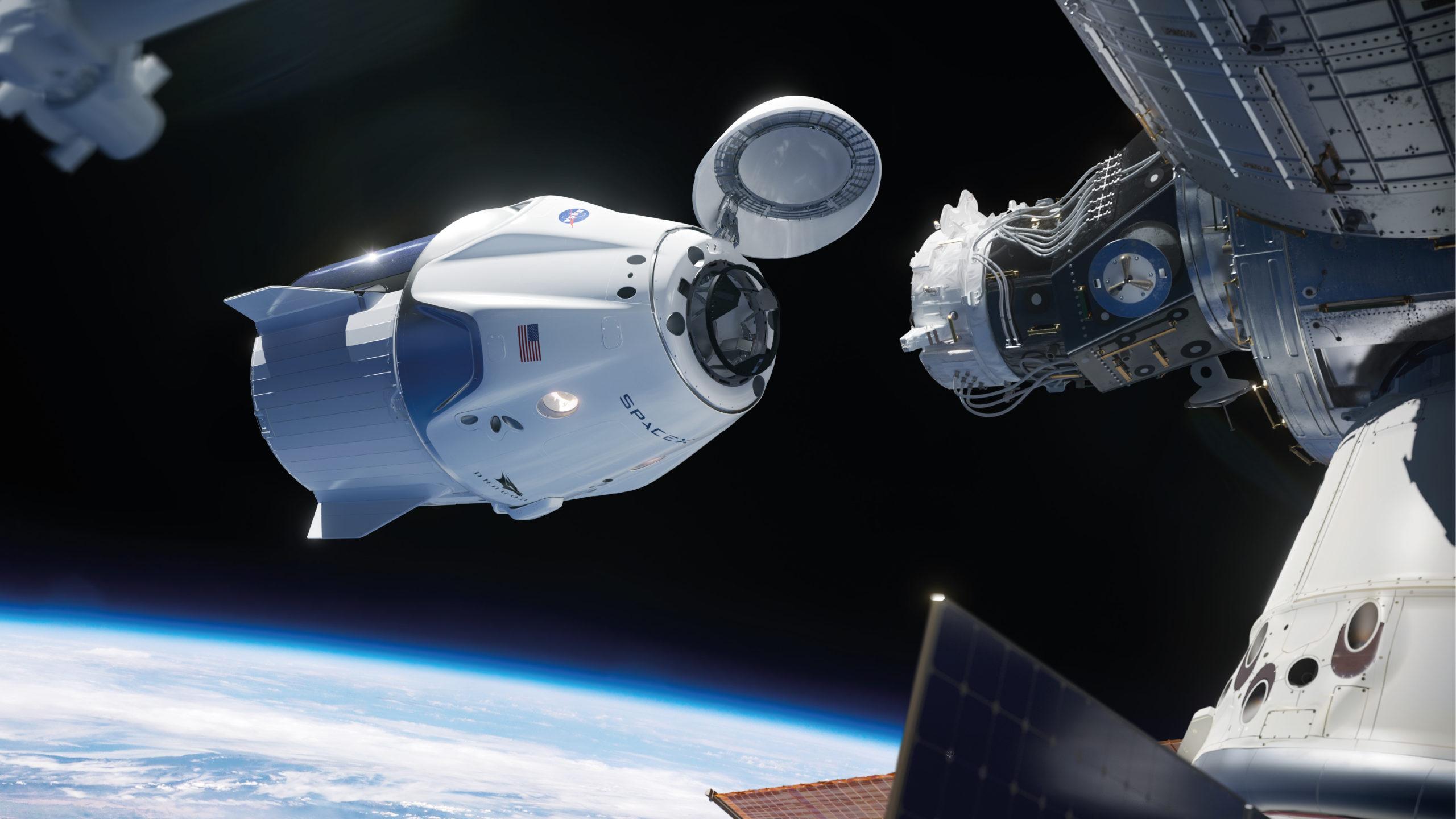 NASA anuncia fecha de lanzamiento de cápsula de SpaceX a la EEI