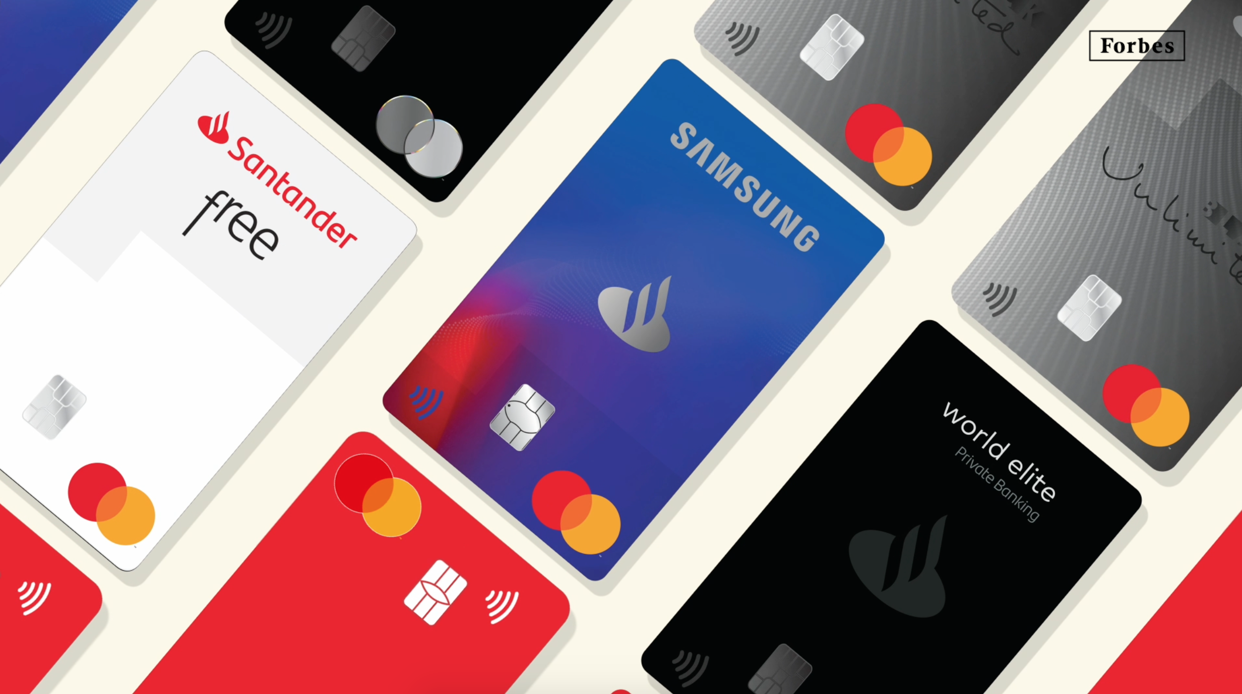 Santander, primero en México en tener el 100% de sus tarjetas Mastercard con Pago Sin Contacto
