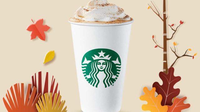 Pumpkin Spice Latte / Imagen cortesía de Starbucks
